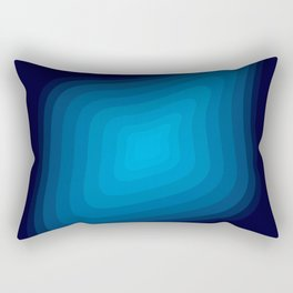 Space blue Rectangular Pillow