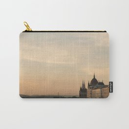 Sun sets over Budapest Carry-All Pouch