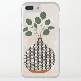 Karten Vase Clear iPhone Case