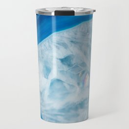 Blue Agate Crystal Travel Mug