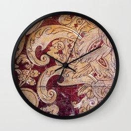 Venetian Wall Art - Flower Vase Wall Clock