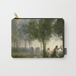 """Jean-Baptiste-Camille Corot """"Orpheus Leading Eurydice from the Underworld"""" Carry-All Pouch"""