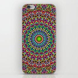 Happy Garden Mandala iPhone Skin
