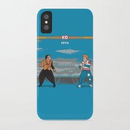 Hammer Vs Ice iPhone Case