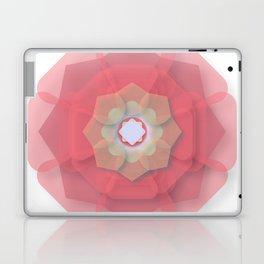 Pink Floral Meditation Laptop & iPad Skin