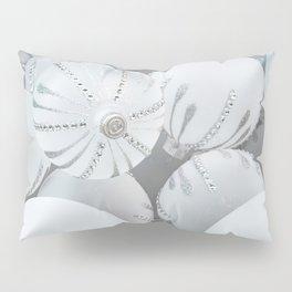 White Glass Pillow Sham