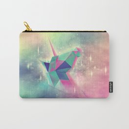 Origami Unicorn Carry-All Pouch
