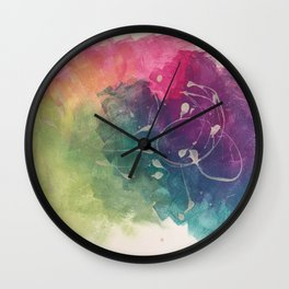 Colour carnival Wall Clock