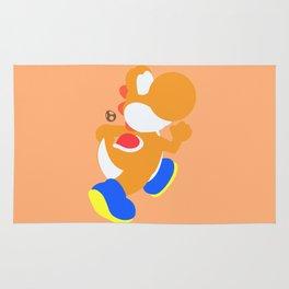 Yoshi(Smash)Orange Rug