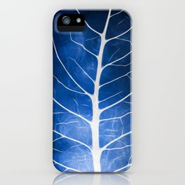 Glowing Grunge Veins iPhone Case