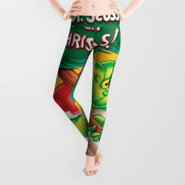 stole christmas tree grinchs 2020 Leggings