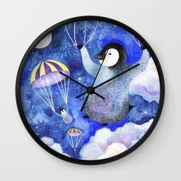 Night Jumpers Wall Clock