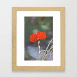 Poppy 27 Framed Art Print