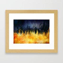 My burning desire Framed Art Print