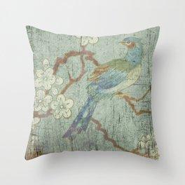 Chinoiserie 3 Throw Pillow