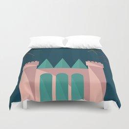 Princess Castle   Disney inspired Duvet Cover