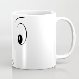 Funny cartoon face Coffee Mug