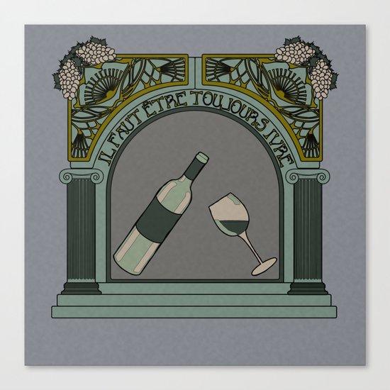 Baudelaire Canvas Print
