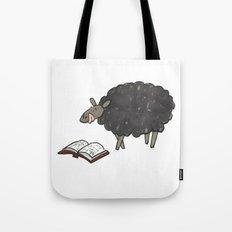 Books are Tasty Sheep Tote Bag