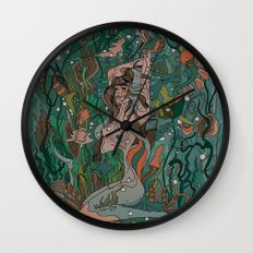 Make Peace With It Wall Clock