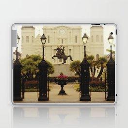 New Orleans Looking Through Jackson Square Laptop & iPad Skin