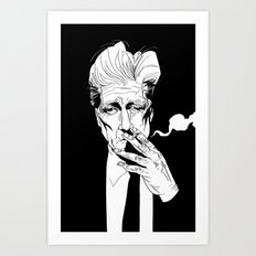 D.Lynch Art Print