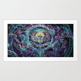Promethean....Conversations with a god Art Print