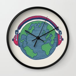 World Music Wall Clock