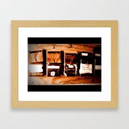 mailman Framed Art Print