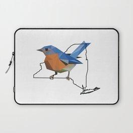 New York – Eastern Bluebird Laptop Sleeve