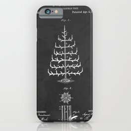Imitation Christmas Tree Patent iPhone Case