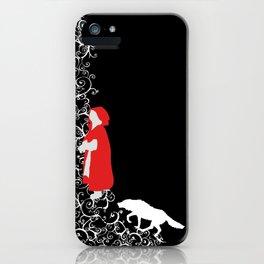 Little Red - Dark iPhone Case
