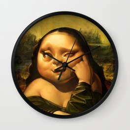 Monalisa  Wall Clock