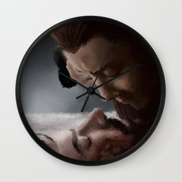 TRUE_LOVE Wall Clock