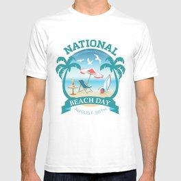 National Beach Day T-shirt