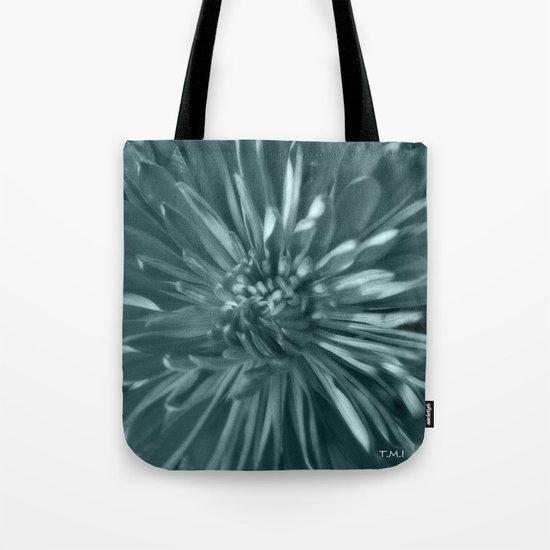 Flower | Flowers | Soft Blue Steel Mums Tote Bag