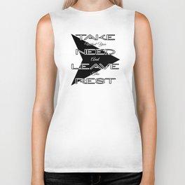 Take What You Need Biker Tank