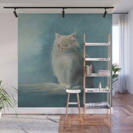 Fluffy Persian Cat Wall Mural