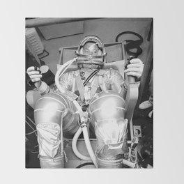 Mercury Atlas 9 Throw Blanket