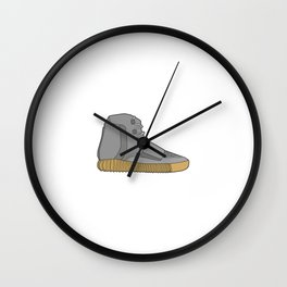 YZY Boost 750 Light Brown Gum (Brown) Wall Clock
