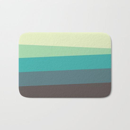 Green Tone Bath Mat