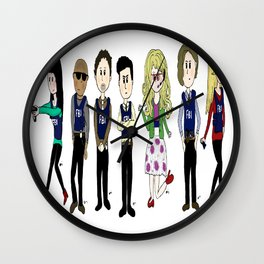 Criminal Minds BAU team Wall Clock