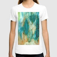 waterfall T-shirts featuring Waterfall by Rosie Brown