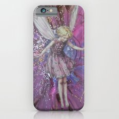 Pink Lady Garden Fairy Art Slim Case iPhone 6s