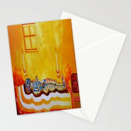 Having a rest Stationery Cards
