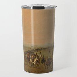 Alfred Jacob Miller,  caravan en route Travel Mug