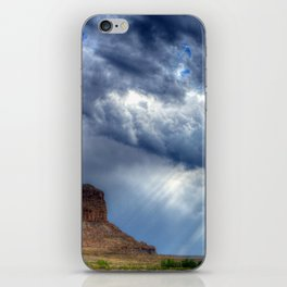 Butte of Chaco Canyon iPhone Skin