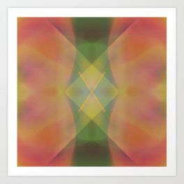 Crystalize 3 Art Print