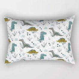 Dinosaur t-rex boys kids Rectangular Pillow
