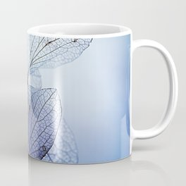 Mood Indigo Blue Hydrangea flowers Coffee Mug
